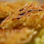 Nigel Slater noodle cake with basil cream  recipe on Nigel Slater: Eating Together