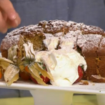 Simon Rimmer Pumpkin and Coconut Loaf recipe on Sunday Brunch