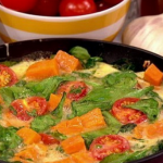Sally Bee Spinach and sweet potato frittata recipe on Lorraine