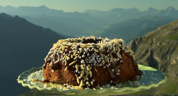 The Hairy Bikers Austrian Schokogugelhupf Chocolate Cake