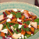 Dean Edwards Moroccan salad with salmon recipe on Lorraine