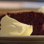 Nigel Slater chocolate beetroot cake with whipped cream recipe on Dish of the Day