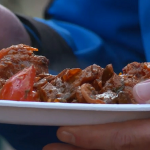 New venison curry recipe on Terry and Mason's Great Food Trip