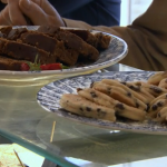 Welsh Cake and Bara brith on Terry and Mason's Great Food Trip
