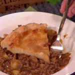 Dean Edwards beef pie with mince recipe on Lorraine