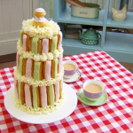 Paul Hollywood choux pastry tower  recipe on Bake Off Masterclass