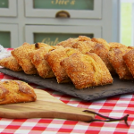 Paul Hollywood flaounes recipe on Bake Off Masterclass
