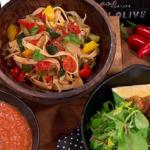 Sally Bee vegetable sauce for flu sauce with turkey meatballs recipe on Lorraine