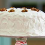Mary's frosted walnut layered cake recipe on Bake Off Masterclass 2015