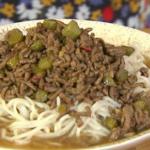 Ching He Huang Beef Dan Dan noodles recipe on Lorraine