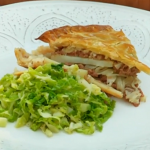 Brian Turner butter pie with butter cabbage recipe on My Life on a Plate