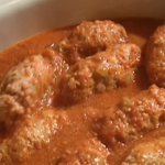 Antonio Carluccio Jewish chicken breast meatballs with tomato sauce recipe on Saturday Kitchen