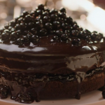 Nigella Lawson chocolate liquorice layer cake recipe on Simply Nigella