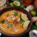 Dean Edwards one pot pork with squash and rice noodles recipe on Lorraine