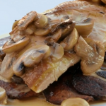 Brian Turner pheasant breast with mushroom sauce recipe on My Life on a Plate