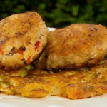 Brian Turner bubble and squeak with  sausage cakes recipe my Life on a Plate