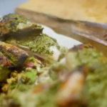 James Martin spatchcocked chicken recipe on Home Comforts at Christmas