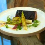 Francesco Mazzei black cod recipe on Saturday Kitchen