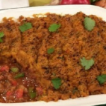 Dean Edwards Caribbean cottage pie recipe on Lorraine