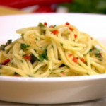 Gino's taste of Italy spaghetti with capers and chilli recipe on This Morning