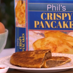Phil Vickery Findus  crispy pancake recipe on This Morning