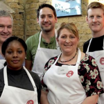 John, Yanique, Chris, Julie, and Cae cook for survival on MasterChef 2016 UK