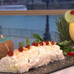 Leon's pina colada roulade recipe on This Morning