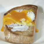 John whaite's tips on how to make the perfect poached egg on Chopping Block