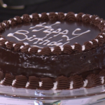 Phil Vickery Queens Official Birthday Chocolate Cake recipe on This Morning
