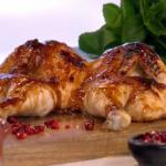Phil Vickery's tasty spachcock chicken roast recipe on This Morning