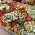 Nadia's lemon and garlic roasted fish recipe on Lorraine