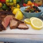 John Whaite Paprika lamb with tomato salad recipe on Lorraine