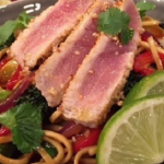 James Tanner seared sesame tuna recipe on Lorraine