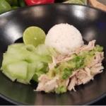 Ching's  Chinese Hainan chicken rice recipe on Lorraine