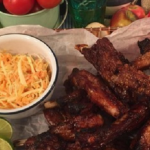 John Whaite sticky spicy ribs with gochujang chilli paste recipe on Lorraine
