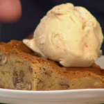 Simon Rimmer pecan and maple white chocolate brownies recipe on Sunday Brunch