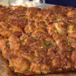 Dave Smart tear and share homemade focaccia recipe on This Morning