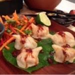 John Whaite dumplings with sesame and chilli sauce recipe on Lorraine