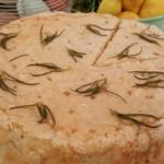 John Whaite gluten free lemon and rosemary almond cake recipe on Lorraine
