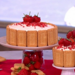 Frances Quinn's how to be a star baker with a strawberry shortcake recipe on This Morning