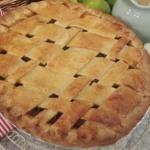 John Whaite apple lattice tart recipe on Lorraine