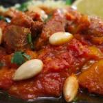 Nadia's lamb and apricot tagine recipe on Lorraine