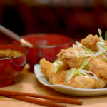 The Hairy Bikers Korean fried chicken with dipping sauces recipe on the Hairy Bikers – Chicken & Egg food series