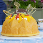 Paul Hollywood Savarin with Chantilly cream recipe on The Great British Bake Off