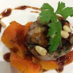 Nigel Barden Italian Pheasant Meatballs with Butternut Squash recipe on Radio 2 Drivetime