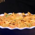 Gino's posh pasta bake with smoked salmon and bechamel sauce recipe on This Morning