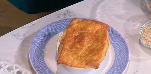 Phil Vickery spicy coconut and mushroom potato pot pie ...