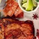 Dean's sticky glazed pork belly with winter slaw recipe for a Christmas feast on Lorraine