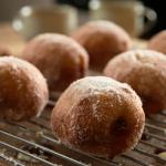 Jam and custard doughnuts the Hairy Bikers Comfort Food