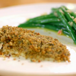 Stacie Stewart Dover sole with walnut crust on How to Lose Weight Well